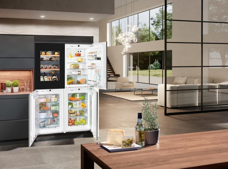 Liebherr SBSWgb 64I5-20 side-by-side hűtőszekrény